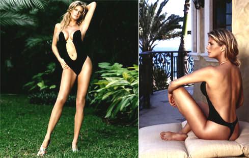 Este body em mim vai ficar melhor que à Rachel Hunter, ou eu não me chamo São Rosas...