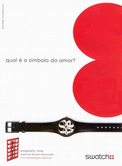 Até a frase «Qual é o símbolo do amor?» está a apontar directamente ao rego... e o engraçado é que na «Hola» espanhola essa frase aparece mais em baixo... Será falta de pontaria dos espanhóis? Ou de coragem?...