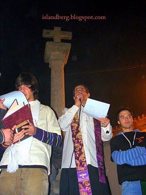 O já lendário padre Abreu (foto islandberg.blogspot.com - 2010)