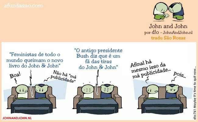 crica para visitares a página John & John de d!o